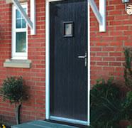 A foam composite door