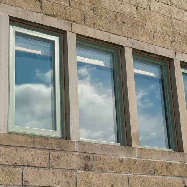 Green chartwell uPVC windows