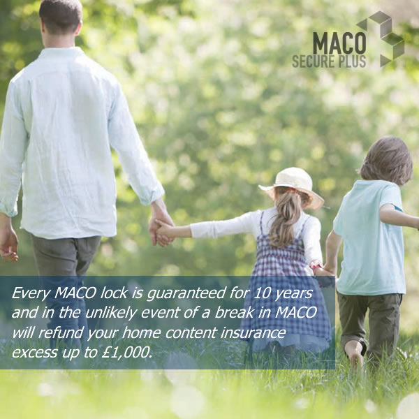 Every MACO lock is guaranteed for 10 years
