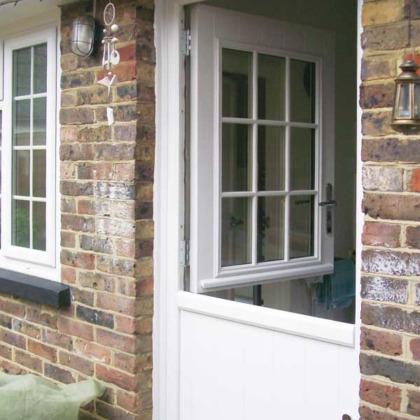 Timber look stable door