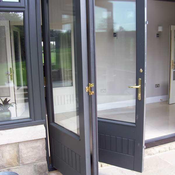 Doors front doors patio doors composite doors inspire for Hardwood patio doors