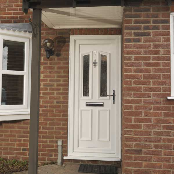 Upvc front doors entrance doors inspire Modern white front door