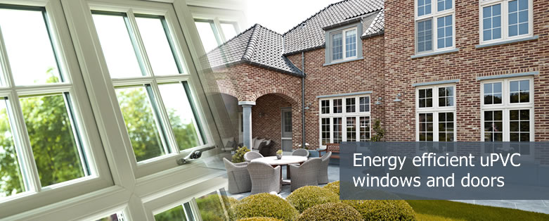 uPVC windows and doors - energy efficient