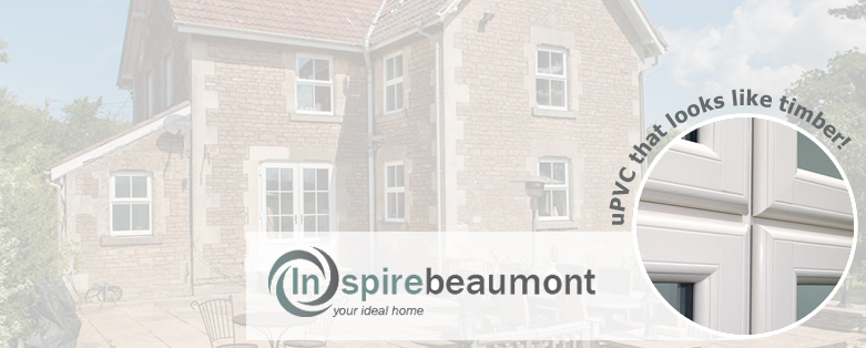Timber look window - Beaumont upvc windows that look like timber