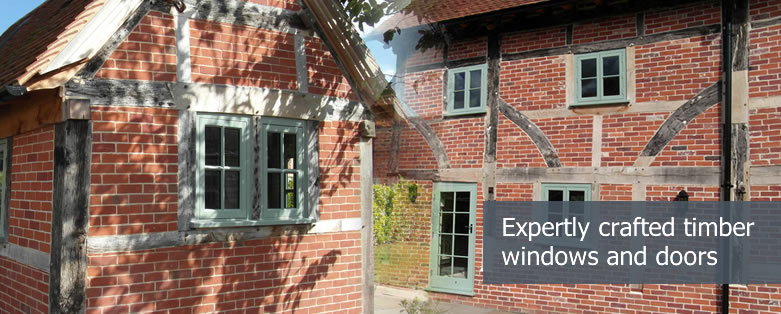 Timber windows and doors expertly crafted in the UK
