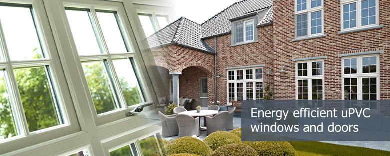 uPVC windows and doors - energy efficient